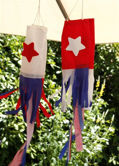 how to make a garden windsock hgtv