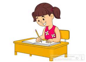 Students Writing Exam Clipart Clipartxtras
