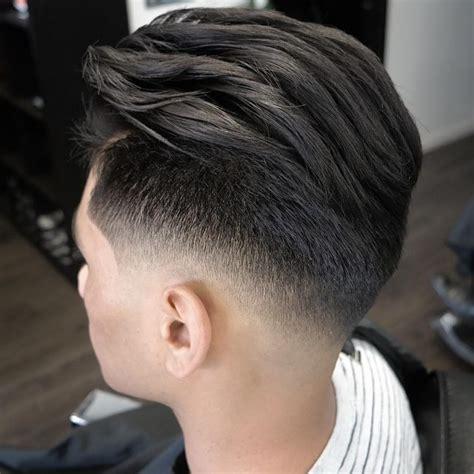 v shape hair style in man undercut v cut men