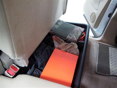 2009 silverado seat storage 2009 chevrolet silverado husky gearbox interior storage