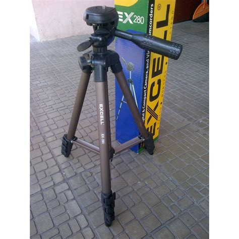 Excell Ex 280 Excell Tripod Ex 280 tripod excell ex280 tas shopee indonesia