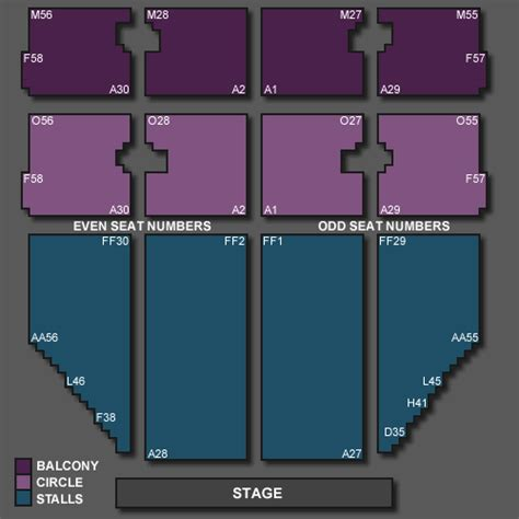 seating plan opera house blackpool rebecca ferguson tickets for blackpool opera house on