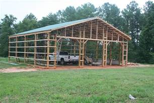 pole barn shop plans 40x40 pole barn plans