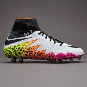 football shoes hypervenom nike hypervenom phantom ii fg white black total orange