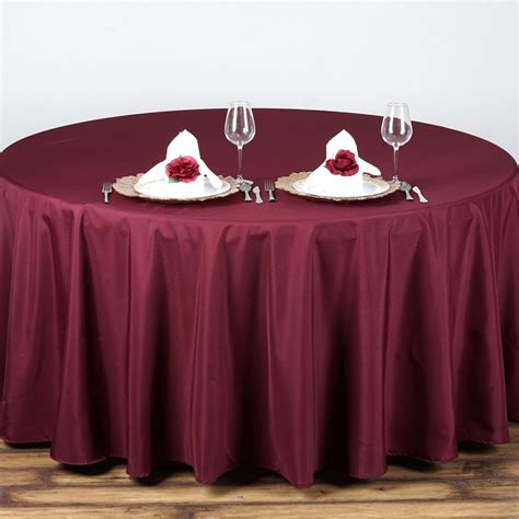 tablecloths table linens 90 quot polyester tablecloth wedding table linens