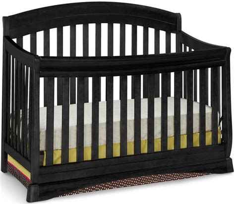 Delta Solutions Crib delta solutions curved 4 in 1 crib black 240 baby