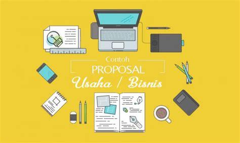 contoh proposal usaha kewirausahaan bisnis