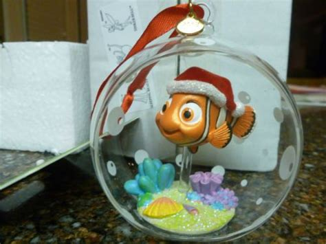 disney finding nemo hollow glass ball sketchbook christmas