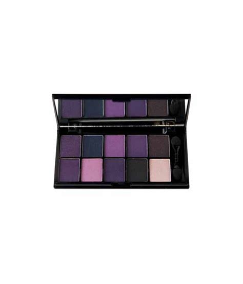 Nyx In Eye Shadow Palette Escape With nyx cosmetics eye shadow palette 10 color velvet rope 0 49
