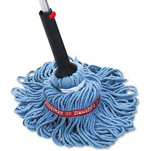 rubbermaid commercial self wringing ratchet twist mop