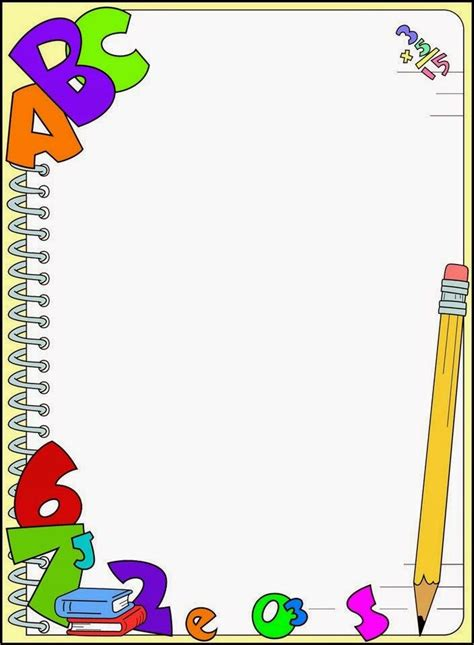 imagenes escolares para caratulas m 225 s de 25 ideas fant 225 sticas sobre bordes para caratulas en