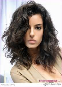 hairstyles for with medium thick hair easy medium length haircuts for wavy hair fashion