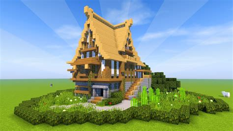 how to build a medieval house in minecraft minecraft tutorial how to build a big survival house medieval mansion 2017 youtube