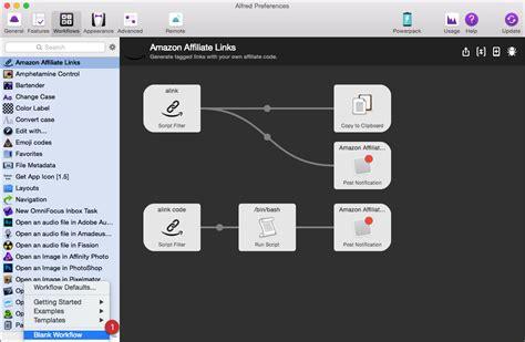 alfred workflow workflow alfred alfred les workflows pour vous rendre