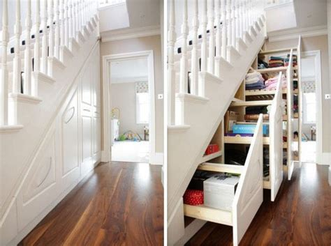 the stairs storage ideas 30 stair shelves and storage space ideas freshome