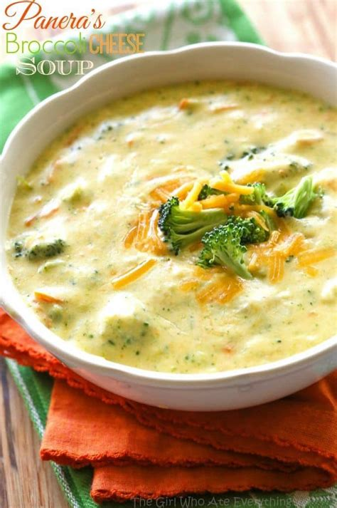 Soups On Broccoli Cheese Soup by Panera S Broccoli Cheese Soup The Who Ate Everything