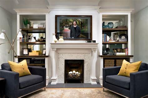 ideas  living room designs  fireplace