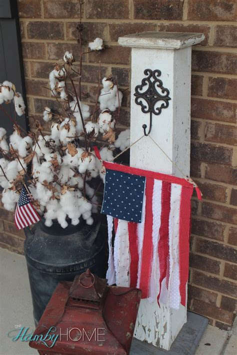 Patriotic Decorations For Home Patriotic Porch Decor The Hamby Home