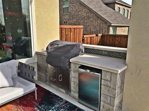 outdoor kitchen against house outdoor kitchen remodeling contractor complete