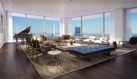 Building Floor Plans Nyc by Brickell Penthouses For Sale Sls Lux Brickell Prices