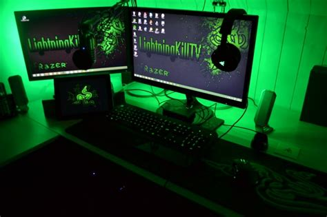 17 best images about pc set ups on pinterest logitech razer gaming setups razer insider forum