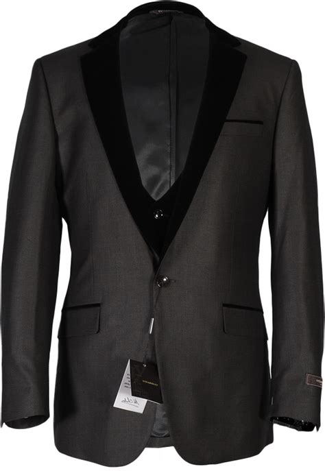Vitarelli Dark Charcoal   The Suit Co