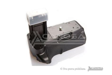 Battery Grip Meike Mk 500d Canon 450d 500d 1000d Free 2 Batre meike mk 500d bg e5 battery grip držač baterija za canon
