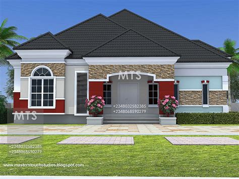 four bedroom bungalow design 4 bedroom bungalow design joy studio design gallery