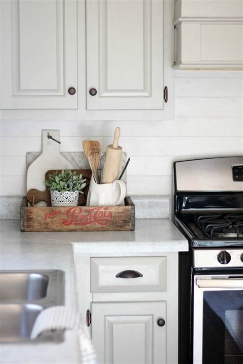 Shiplap Kitchen Backsplash Decorating With Wood Planks