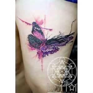 mariposa en acuarelas by becstar tatuajes para