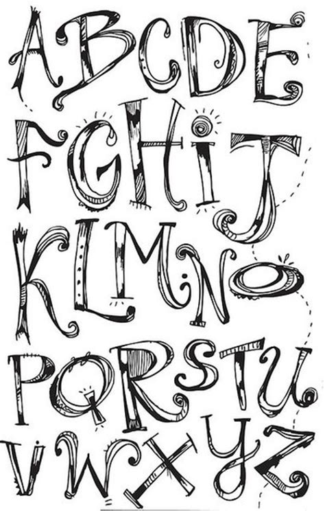 free doodle fonts pin by klau giordano on tattoos