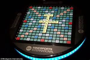 electronic scrabble board want to show your scrabble skills the 163 20 000 board