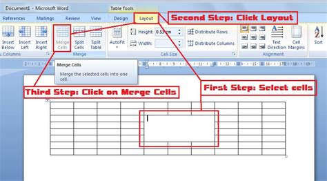 Html Table Merge Cells by October 29 How To Merge Cells From Table In Ms Word