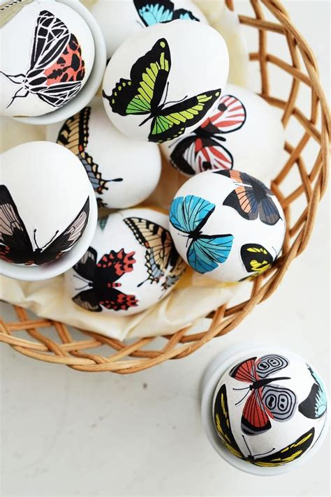 decoupage easter eggs 20 ways to decorate easter eggs without dye