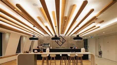 Shop Ceiling Design by Ing Bank Uk Headquarters Nulty Lighting Design Consultants