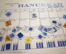 Hanukkah Calendar How To Make A Countdown To Hanukkah Calendar