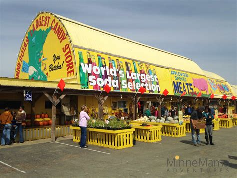 minnesota s largest candy store the big yellow barn