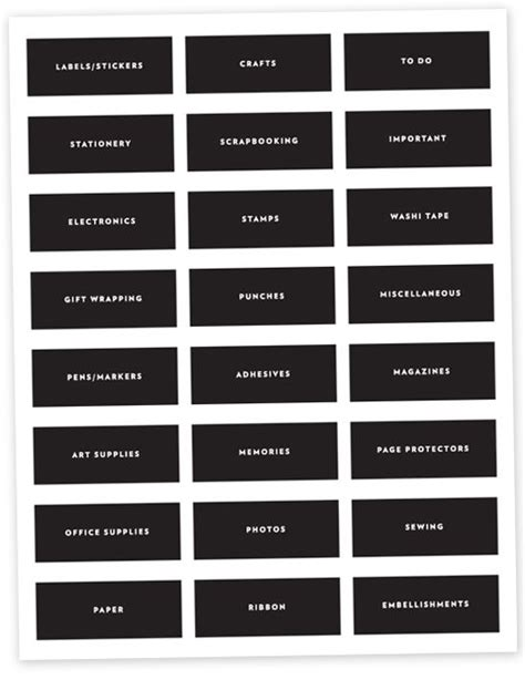 printable organising labels 187 best images about printable tags labels on pinterest