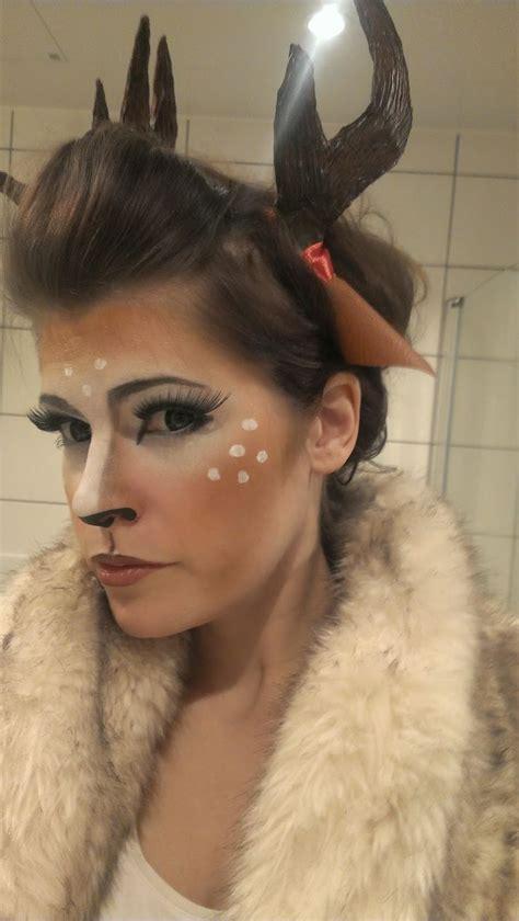chrix design couture deer makeup costume halloween