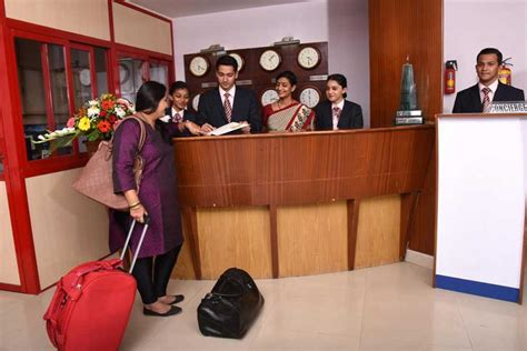 Front Desk Officer Anjuman I Islam S Institute Of Hotel Management Catering Technology