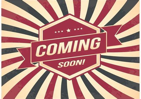 2 Color Sale Retro Promotion Brand Business - coming soon retro style background 140984