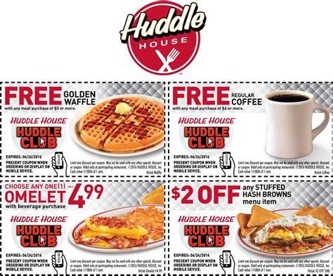 waffle house coupons the huddle coupons promo codes 2017 autos post