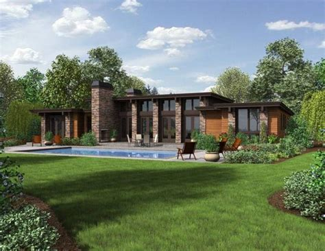 Mid Century Modern Ranch by Modern Ranch Style House Design Decoration