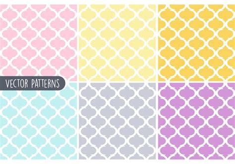 vector pattern pastel free pastel geometric vector pattern set download free vector