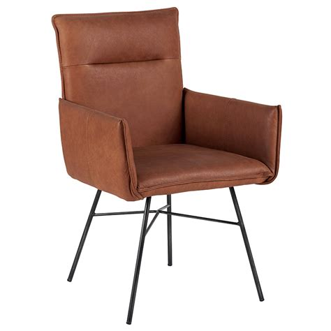 chaises pas chères chaise cuir camel pieds m 233 tal casita meubles gibaud