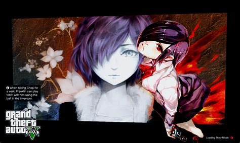 anime 47 high and low anime tokyo ghoul loading screens gta5 mods