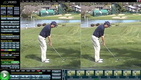 golf swing analysis software golf swing analyzer software
