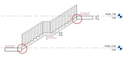 Autodesk Revit Top Level Joins Of Monolithic Stairs