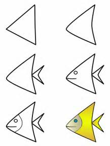 How To Draw Fish Fish On Fish Drawings How To Draw And Doodle