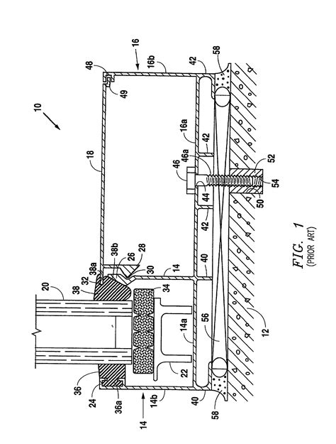 curtain wall assembly patent us20020129573 building curtain wall with sill